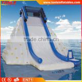 Extreme Inflatable Glacier Slide, Water Floating Inflatable Ice climbing, inflatable yacht climbing wall