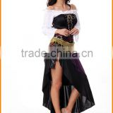 India Sey Belly Dance Gypsy Costume Halloween Cosplay purple stage clothing eports