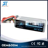 Lithium Polymer high discharging rate 3300mah lipo battery for model airplane /Car Model /Hobby Model