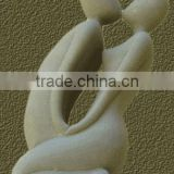 Man And Woman Statue Abstract Art Marble Hand Carving Sculpture For Garden, Home, Street, Decoration And Restaurant No 25