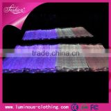 LED lighting fiber optical luminous fabric cloth wholesale fiber optical fabric/ vertical blind fabric