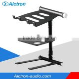 Alctron LS005T Laptop Stands For DJs wit Tray Fully adjustable Light&Strong Prue Aluminum Alloy Made