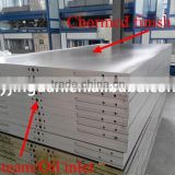 Multilayer Melamine Laminating Hot Press Machinery High Pressure Pump Flowing About 89L/min