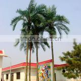 Outdoor coconut tree or resin fiberglass coconut tree