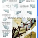PU Stair Brackets Polyurethane Crown Moulding Good price beautiful new modern PU Carved Panel