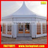 aluminum hexagon dome pagoda carpas tent for wedding party trade show event