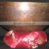 Tibetan Singing Bowls ~ Antique Seven Metal Himalayan Old Singing Bowl ~ Sound Healing Buddhist Chakra Bowl