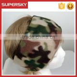 A-124 custom ear warmer head band fleece camouflage ear warmer camouflage polar fleece headband