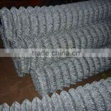 electro galvanized diamond wire mesh fence/vinyl coated chain link/chain link fence for sale