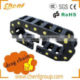 CF -60*350 Series High Hardness Glass Fiber Drag Cable Chain // Cable Protection Chain