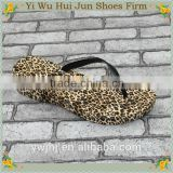 Custom Printed Beach Rubber Slippers Fashion Sexy(HJW027)