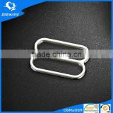 Silver plated zinc Alloy bra slider Buckles