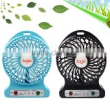 Hot !! !rechargeable Fashion Cool usb electric mini battery powered cellphone fan for sale