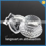christmas crystal glass bell jars wholesale                                                                         Quality Choice