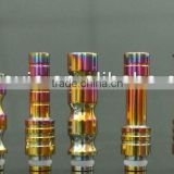 Newest 510 wide bore disposable drip tip