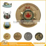 Best Selling Factory Direct Metal Die Casting Coins Custom Antique Cooper US Army Challenge Coin