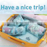4pcs Mesh Foldable Travel Essential Clothes Pants Toiletry Storage Wash Bag Luggage Pouch Set