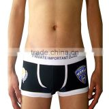 Summer New Style Cotton men's Cotton boxer shorts underwear Men US POLICE print personality design boxer shorts