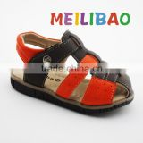 fashionable moccasins genuine leather kids sandals