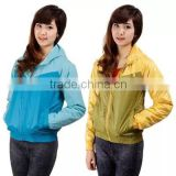 Lady Waterproof soft shell jacket (softshell jacket) with hoodie