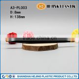 Long black eyeshadow brush for cosmetic use