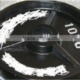 Hot Sale Black Painted Olympic weight Plate