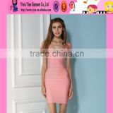 Europe beautiful girl plus size bandage dress hot sale one piece sexy cheaper spandex clubwear tight dress
