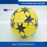 The Star Pattern waterproof soft touch beach soccer ball/football
