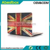 "For Macbook 11"" 12"" 13"" 15""Hard Case, British Flag Retro Style PC Hard Cover for Macbook 12"" inch with Retina Display"