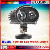 LED Forklift Safety blue point led work light 10w 10-60V led forklift warning lights