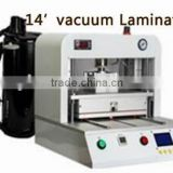 Quickly automatic laminator machine used for repairing all kinds of cellphone touch screen manufacturing process 14 inch