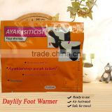 Daylily adhesive foot warmer - toe warmer boots for mens and ladies socks