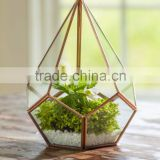 Various designs hanging glass globe terrarium, terrarium decoration, geometric glass terrarium - Diamond shape