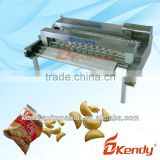 Small hollow biscuit making machine