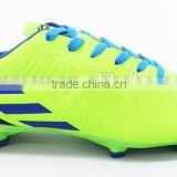 Colorful Outdoor Soccer Shoes With PU Upper/TPU Outsole