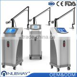 Wrinkle Removal 100um-2000um OEM & ODM CO2 Fractional Laser Machine / 30w Fractional Co2 Laser Surgical Products Vaginal Tightening Equipment Professional Face Whitening