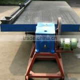 6-S concentrating shaking table for sale with reasonable price for gold ore ,iron ore,etc