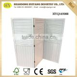 New design room divider folding decorative wood screen