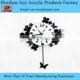 Luxury Modern DIY acrylic Wall Clock Stickers Decals Home Room Art Decor Watches/timepiece