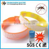 Silicone Rubber Mosquito Repellent Bracelet With Low Price from Professional Factory
