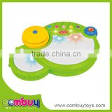 Lovely baby play plastic musical instrument miniature drum set