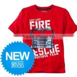 fashion boys red color summer short sleeve t-shirts kids tops children's jumping beans t-shirts
