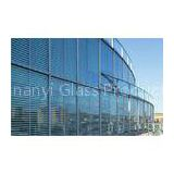 Curved Laminated Insulated Glass 19mm 20mm 25mm For Curtain Wall