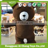 Professional Custom Adult teddy bear plush Mascot costumes 1m-2m