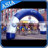 Start Finish Line Entrance Inflatable Arch , Inflatable Arch For Bicycle Competition