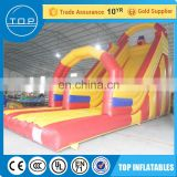 Golden supplier clearance bouncy castles used inflatable water slide sale for fun
