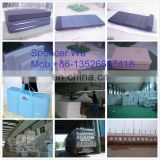 polyester fiber 3 folding mattress(Thermal bond hard wadding)