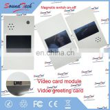 Brand Manufacturer paper craft video greeting card module