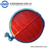 ANSI BS DIN JIS Manual Electric Ventilation Adjustment Butterfly Valve D941W-6C
