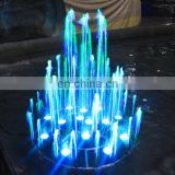 Make Led colorful water dancing saco fountain
